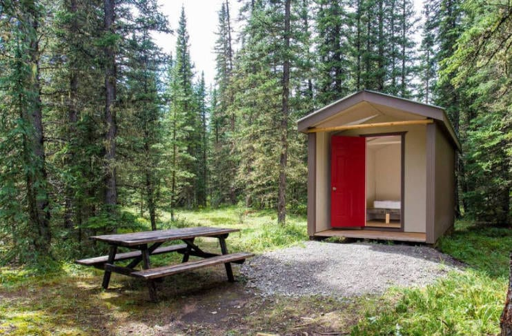 Camping and Cabins